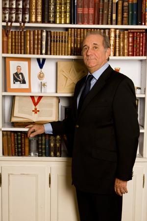Wielki Mistrz GLCS Marcel Laurent gościł w Ustroniu