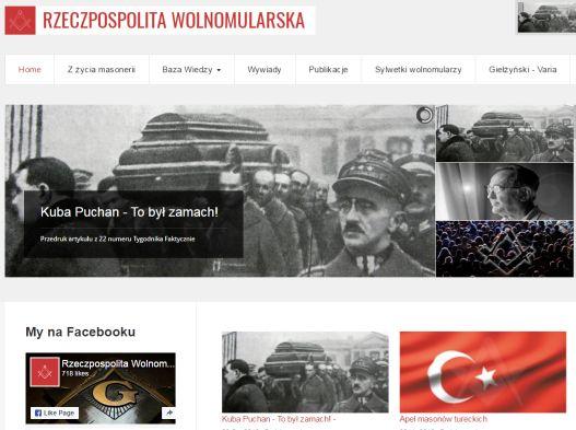 """Rok """"Rzeczypospolitej Wolnomularskiej"""" – gratulujemy!"""