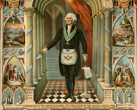 Gerge Washington - mason
