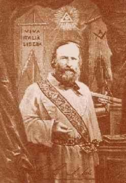 Giuseppe Garibaldi mason