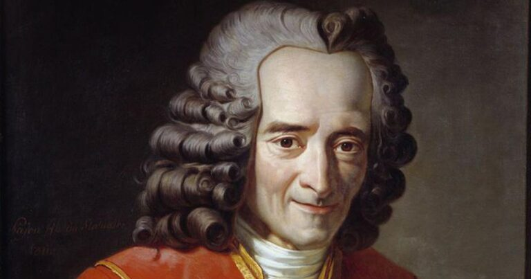 Filozofia masonerii: Voltaire