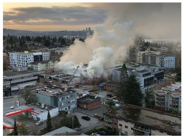 Podpalenie trzech świątyń masońskich w Vancouver