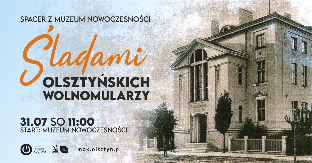 Spacer śladami olsztyńskich wolnomularzy