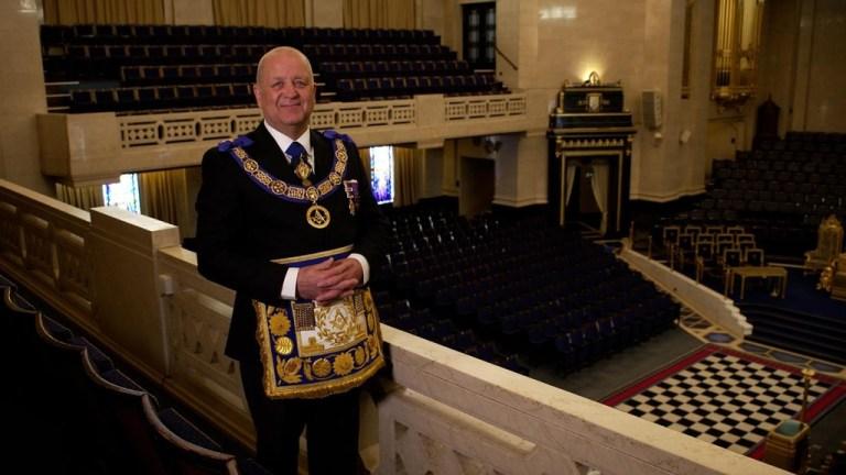 Ponad 100 masonów zostało inicjowanych 12 września w Wielkiej Światyni Buckinghamshire