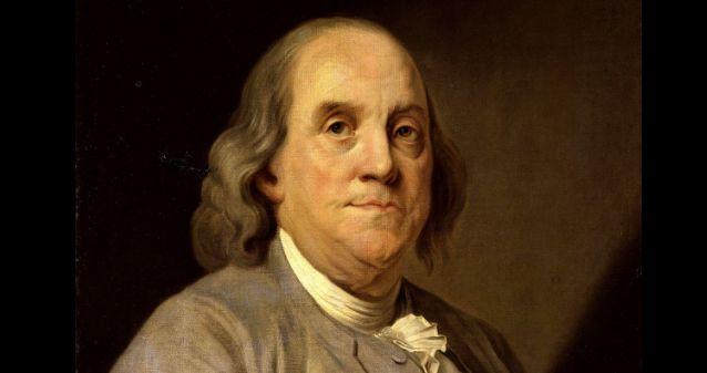 """Benjamin Franklin"" – Waltera Isaacsona"